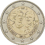 2 Euro 2 2011 100.Internationaler Frauentag